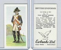 E0-0 Ewbanks, British Uniforms, 1957, #15 The Royal Horse Guards