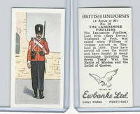E0-0 Ewbanks, British Uniforms, 1957, #16 The Lancashire Fusiliers