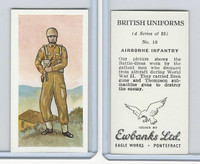 E0-0 Ewbanks, British Uniforms, 1957, #18 Airborne Infantry