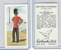E0-0 Ewbanks, British Uniforms, 1957, #19 The Grenadier Guards