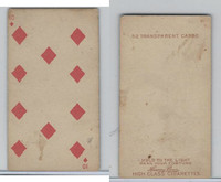 N233 Kinney, Transparent Playing Cards, 1888, Diamond 10