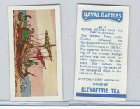 G0-0 Glengettie Tea, Naval Battles, 1971, #1 Roman Victory over Carthaginians