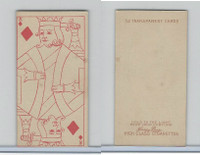 N233 Kinney, Transparent Playing Cards, 1888, Diamond King