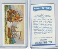 G0-0 Glengettie Tea, Naval Battles, 1971, #7 Capturing Spanish Treasure