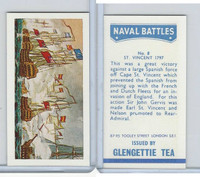 G0-0 Glengettie Tea, Naval Battles, 1971, #8 St. Vincent 1797