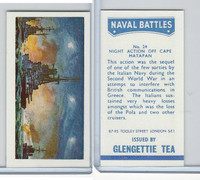 G0-0 Glengettie Tea, Naval Battles, 1971, #24 Night Action Off Cape Matapan