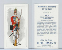 H0-0 Hitchman, Regimental Uniforms, 1973, #10 Hon. Artillery Company
