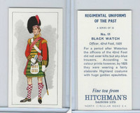 H0-0 Hitchman, Regimental Uniforms, 1973, #11 Black Watch