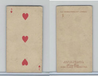 N233 Kinney, Transparent Playing Cards, 1888, Heart 3