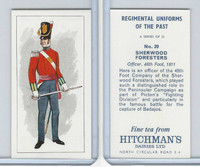 H0-0 Hitchman, Regimental Uniforms, 1973, #20 Sherwood Foresters