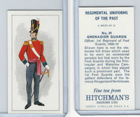 H0-0 Hitchman, Regimental Uniforms, 1973, #21 Grenadier Guards