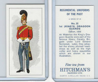 H0-0 Hitchman, Regimental Uniforms, 1973, #22 1st (King's) Dragoon Guards