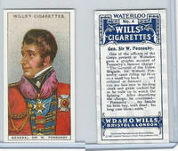 I0-0 Imperial, Waterloo Reprint, 1987, #4 General Sir W. Ponsonby
