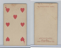N233 Kinney, Transparent Playing Cards, 1888, Heart 7
