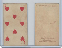 N233 Kinney, Transparent Playing Cards, 1888, Heart 8