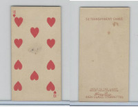 N233 Kinney, Transparent Playing Cards, 1888, Heart 10