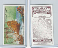 C0-0 CC, Pirates & Highwaymen Reprint, 2001, #17 L'Olonnois