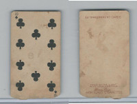 N233 Kinney, Transparent Playing Cards, 1888, Club 10