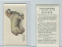 P72-91B Players - Transfers, Dogs, 1931, Clumber Spaniel