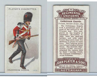 P72-47 Player, Regimental Uniforms, 1913, #55 Coldstream Guards.  Private, 1854