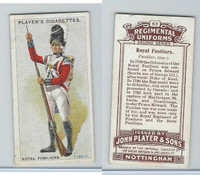 P72-47 Player, Regimental Uniforms, 1913, #63 Royal Fusiliers.  Fusilier, 1792-7