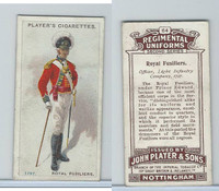 P72-47 Player, Regimental Uniforms, 1913, #64 Royal Fusiliers Off Light In 1797