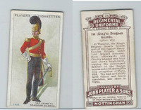 P72-47 Player, Regimental Uniforms, 1913, #75 1st Dragoon Guards. Officer, 1835