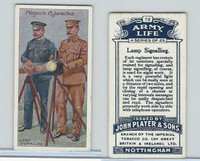 P72-16 Player, Army Life, 1910, #12 Lamp Signalling