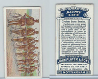 P72-16 Player, Army Life, 1910, #15 Cyclists Scout Section