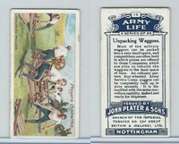 P72-16 Player, Army Life, 1910, #16 Unpacking Waggons