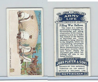 P72-16 Player, Army Life, 1910, #20 Filling War Balloons