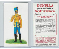 P72-00 Player, Napoleonic Uniforms, 1980, #2 Captain, 1808: Adjutant to Soult