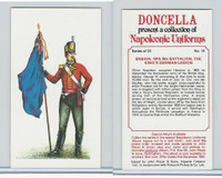 P72-00 Player, Napoleonic Uniforms, 1980, #14 5th Bat, King's German Legion