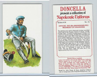 P72-00 Player, Napoleonic Uniforms, 1980, #15 5th (Brandenburg) Dragoons