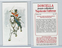 P72-00 Player, Napoleonic Uniforms, 1980, #23 2nd (Royal North British) Dragoons