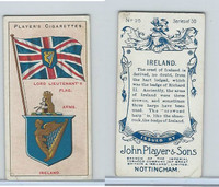 P72-29 Player, Countries Arms & Flags, 1912, #25 Ireland