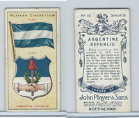 P72-29 Player, Countries Arms & Flags, 1912, #30 Argentine Republic