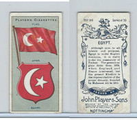 P72-29 Player, Countries Arms & Flags, 1912, #35 Egypt