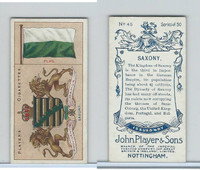 P72-29 Player, Countries Arms & Flags, 1912, #45 Saxony