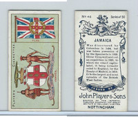 P72-29 Player, Countries Arms & Flags, 1912, #46 Jamaica