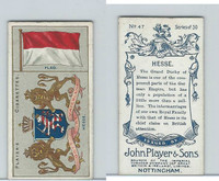 P72-29 Player, Countries Arms & Flags, 1912, #47 Hesse