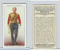 P72-157 Player, Coronation, 1937, #13 Earl Marshal of England