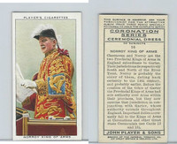P72-157 Player, Coronation, 1937, #16 Norroy King of Arms