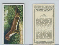 P72-153 Player, Animals of Countryside, 1939, #16 Weasel