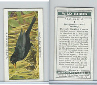 P72-142 Player, Wild Birds, 1932, #1 Blackbird and Young