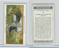 P72-142 Player, Wild Birds, 1932, #11 The Black-Throated Diver