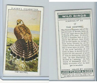 P72-142 Player, Wild Birds, 1932, #17 The Kestrel