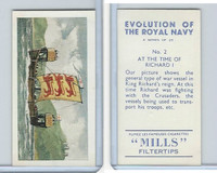 A46-0 Amalgamated, Evolution Royal Navy, 1957, #2 At Time of Richard I