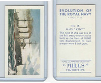 "A46-0 Amalgamated, Evolution Royal Navy, 1957, #16 H.M.S. ""Kent"""