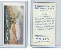"A46-0 Amalgamated, Evolution Royal Navy, 1957, #21 H.M.S. ""Warspite"""